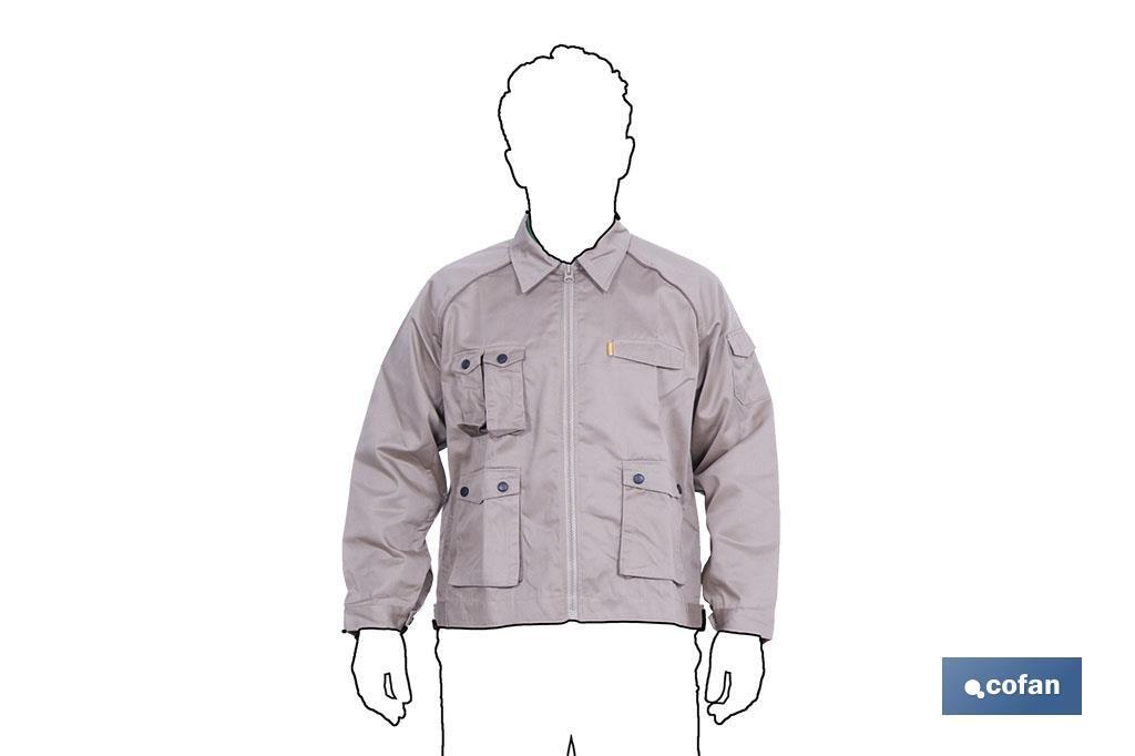 Cazadora de Trabajo Marrón - Cofan 47b5527347c7f