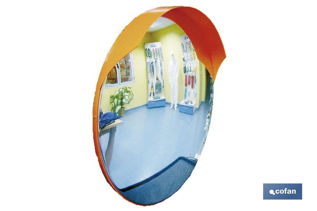 Espejo convexo exteriores cofan for Espejo esferico convexo