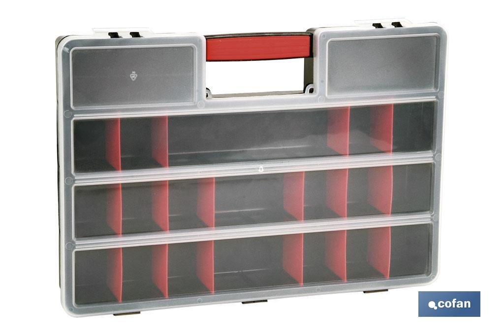 "Storage tool box ""Super"" with 21 sections - Cofan"