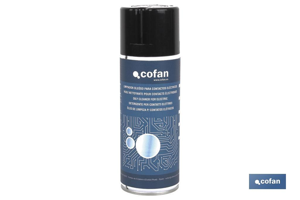 Electrical contact cleaner - Cofan