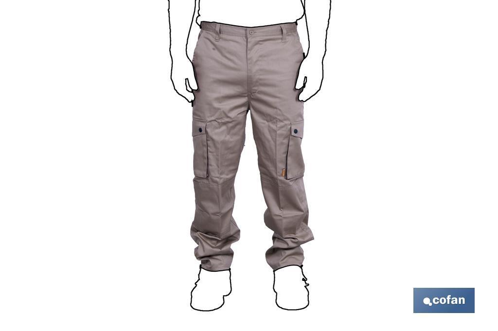 35728b7df90 Pantalón de Trabajo Marrón - Cofan
