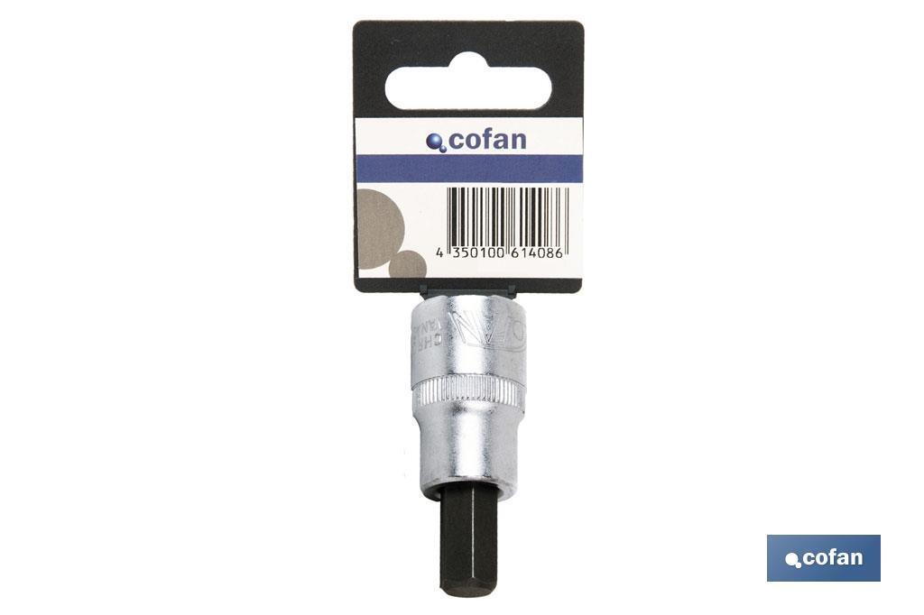 "1/2"" extra long tip socket 65mm Pozidrive - Cofan"