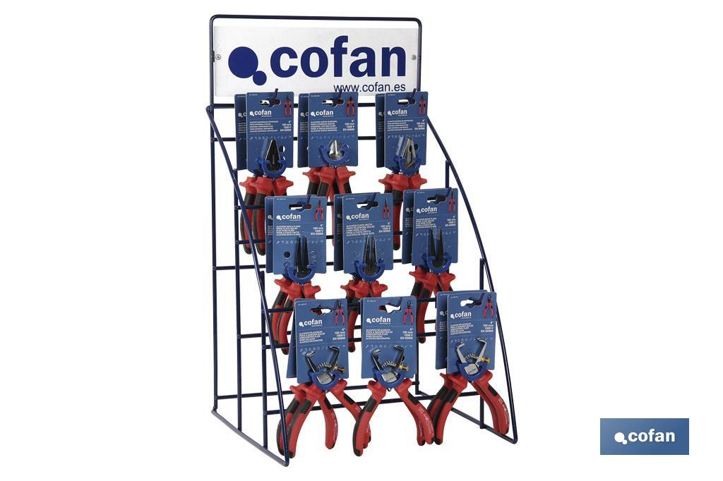 1000V Pliers Display Stand (39 units) - Cofan