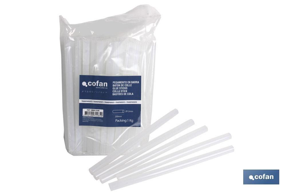 Hot Glue Gun Sticks (bags) - Cofan