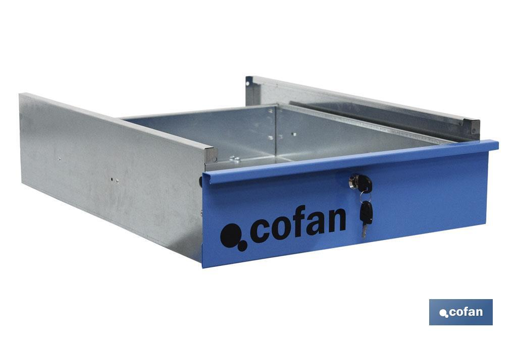 Drawer with lock - Cofan