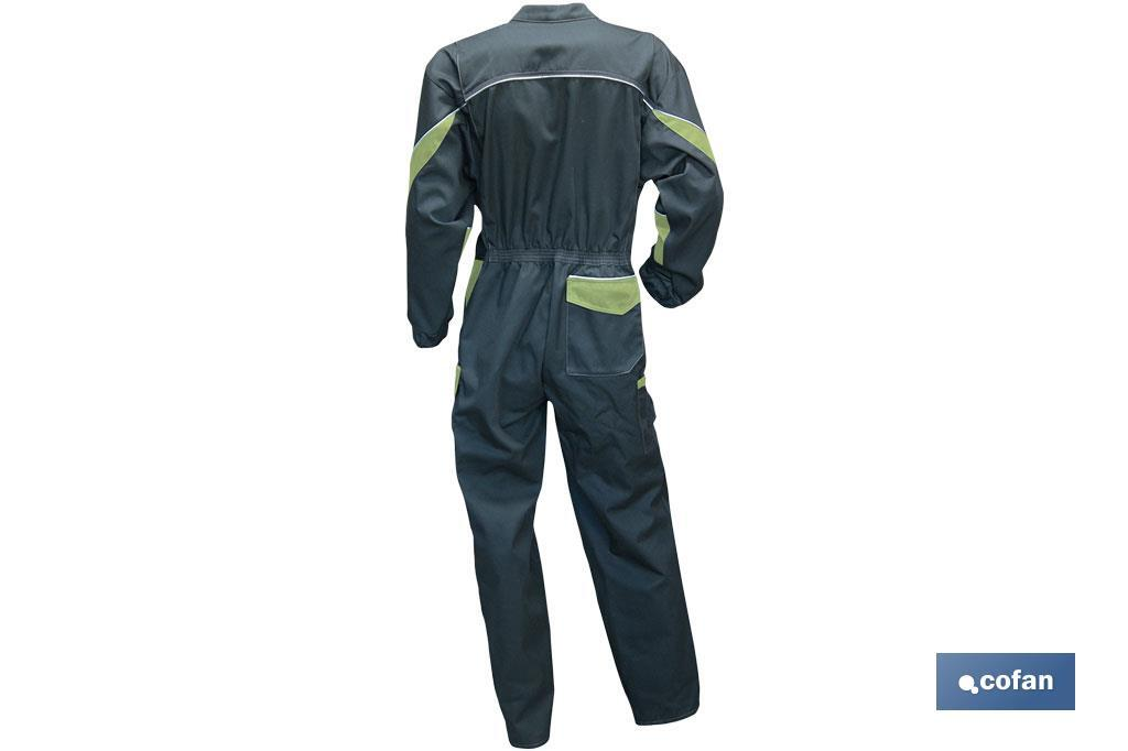 "GREY COVERALL FOR WOMAN ""ORGE"" - Cofan"