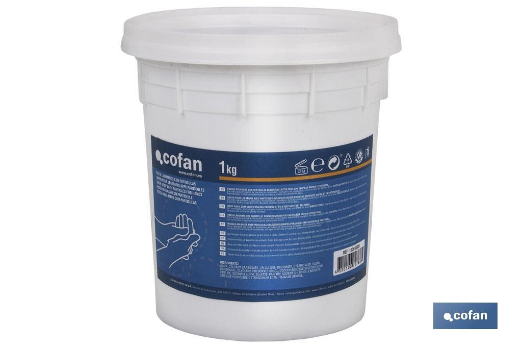 Hand cleaning paste 1kg - Cofan