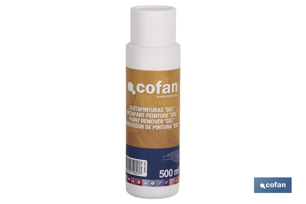 "Paint remover, ""gel"" - Cofan"