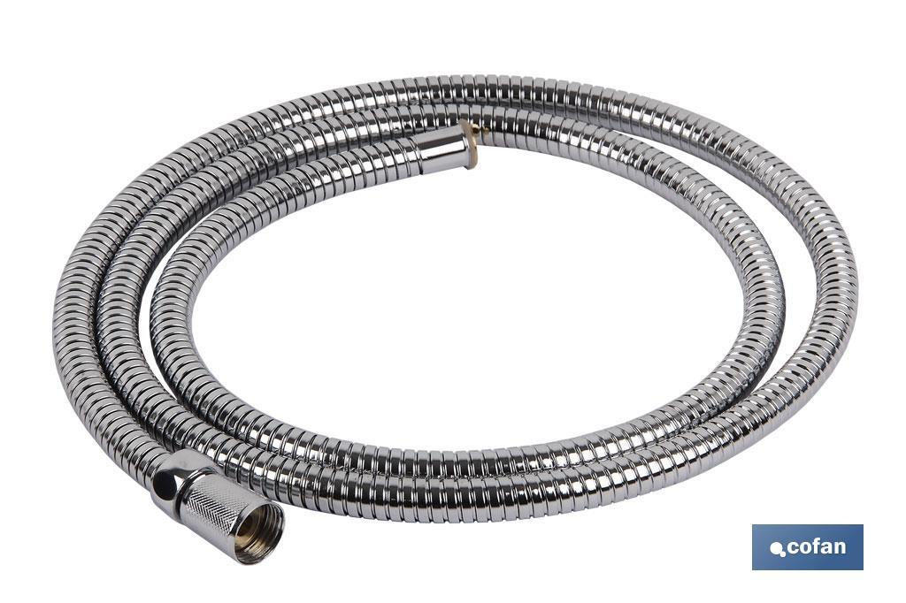 Extensible and stainless steel shower hose - Cofan