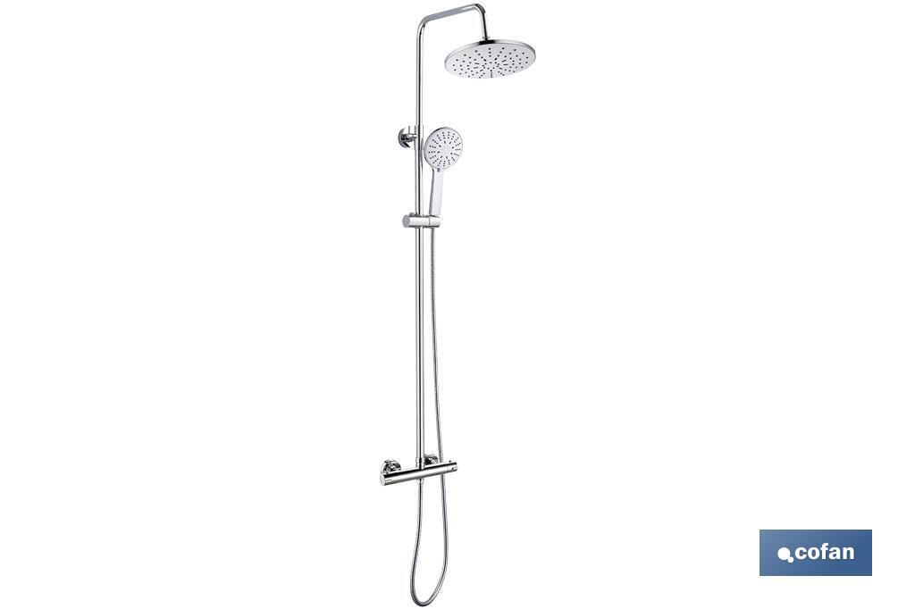 SHOWER COLUMN WITH MIXER TAP - Cofan