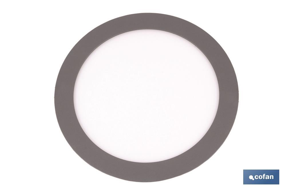 "Grey round downlight ""embeded"" - Cofan"