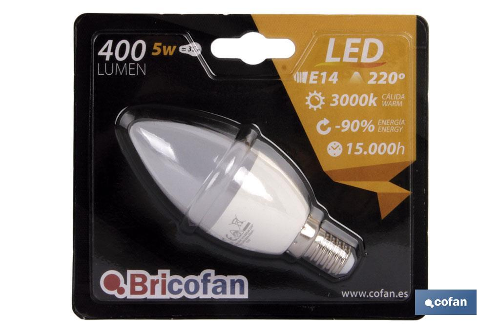 Candle LED bulb - Cofan