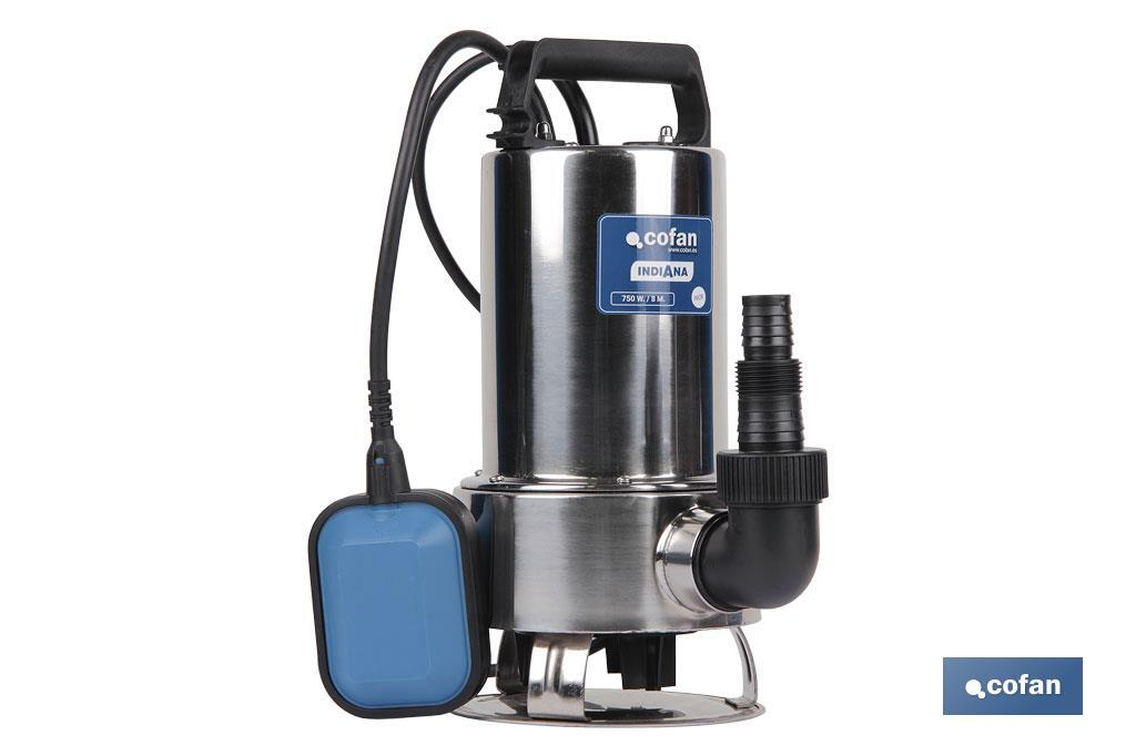 "750W SUBMERSIBLE WATERPUMP 10M CABLE ""INDIANA"" - Cofan"