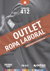 OUTLET ROPA LABORAL 2020