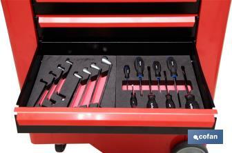 Trolley with 4C Tools - Cofan