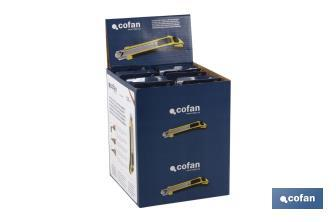 Cutter with exchangeable blades - Cofan