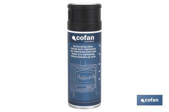 High temperature spray painting - Cofan