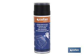 Antideslizante en Spray Transparente 400ml - Cofan