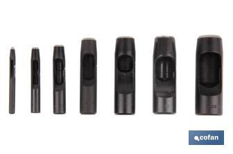 Cylindrical hollow punches - Cofan
