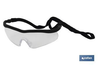 Gafa de seguridad sport clear UV Protection - Cofan