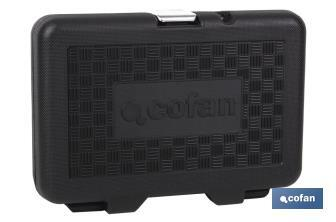 "36-pc 1/4"" Professional socket set - Cofan"