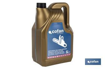 SPECIAL CHAINSAW OIL FOR CHAINS  - Cofan