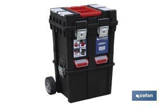 Caja herramientas compact con ruedas cofan for Cajas de herramientas vacias