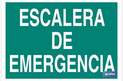 Escalera de emergencia cofan for Escaleras de emergencia