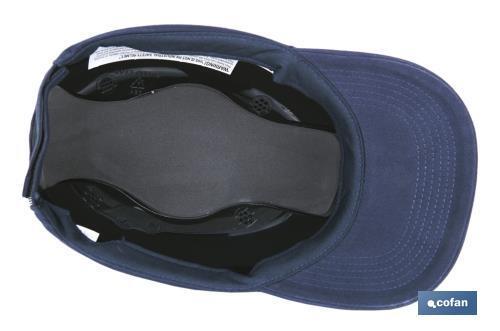 Gorra de seguridad sport cofan - Gorra de seguridad ...