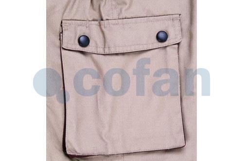 1a6bcd56392 Pantalón de Trabajo Marrón   Cofan
