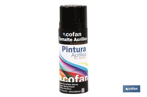 Pintura en Spray - Cofan