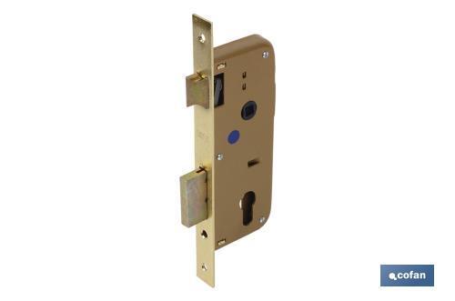 Cerradura embutir puertas madera cofan - Cerraduras puertas madera ...