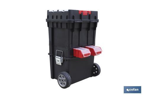 Caja herramientas compact con ruedas cofan - Caja herramientas con ruedas ...